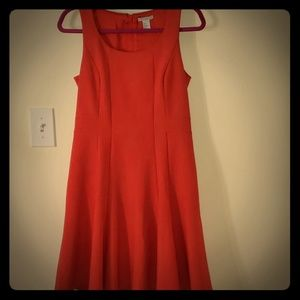 H&M A-line orange dress- like new!